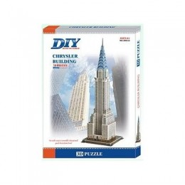 USA Chrysler Building 3D- Educational Puzzle Model
