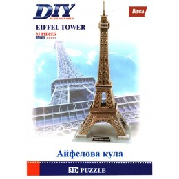 Eiffel Tower 3D Пъзел