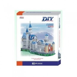 Neuschwanstein German Castle 3D- Educational Puzzle