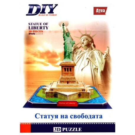 Statue of Liberty Model 3D- Educational Puzzle