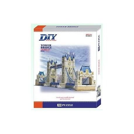 Tower Bridge Model 3D - Educational Puzzle
