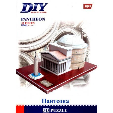 Пантенонът 3D Puzzle Model