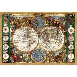 Антична карта на света