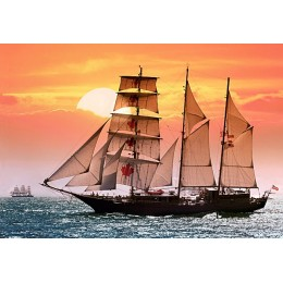 Sailing Ship in the Sunset