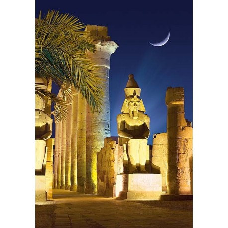 Luxor Temple by Night, Egypt
