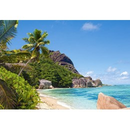 Пъзел - Tropical Beach, Seychelles