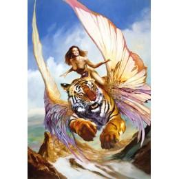 Пъзел - Tiger Girl