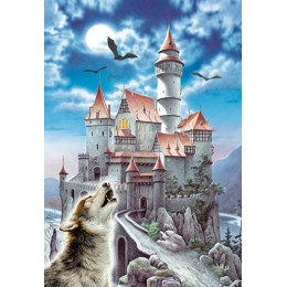 Пъзел - Castle in the Moonlight