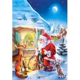 Пъзел - Santa Claus is coming...