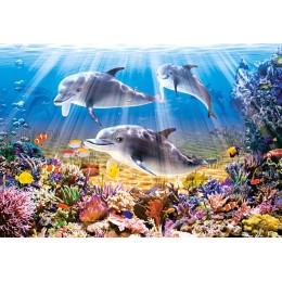 Пъзел - Dolphins Underwater