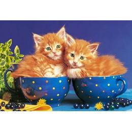 Пъзел - Kittens in Bowls