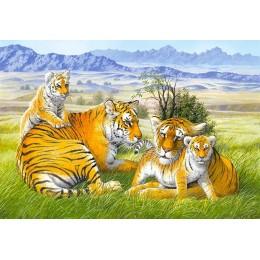Пъзел - Tiger Family