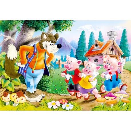 Пъзел - Three Little Pigs