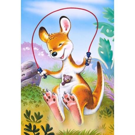 Пъзел - Little Skipping Kangaroo