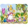 Пъзел - Rabbit Family