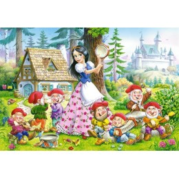 Пъзел - Snow White and the Seven Dwarfs