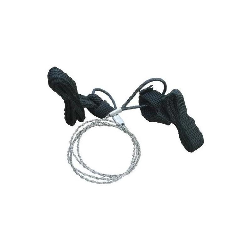 трион със шнур за ръкохватки BCB Commando Wire Saw