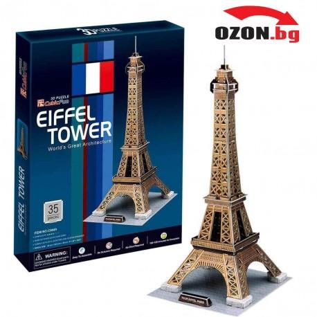 Триизмерен пъзел Айфеловата кула