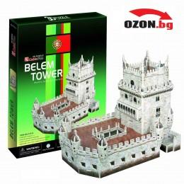 Триизмерен пъзел 3D Belem Tower