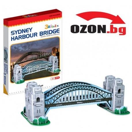 Триизмерен 3D пъзел Sydney Harbour Bridge