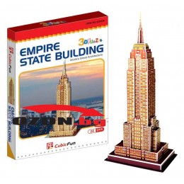 Триизмерен 3D пъзел Empire State Building