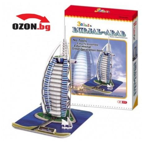 Триизмерен 3d пъзел Burj Al Arab