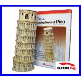 Триизмерен пъзел C3008h Leaning Tower