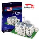 Триизмерен 3D пъзел White House,USA