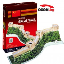 Триизмерен 3D пъзел Great Wall (China)