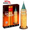 Триизмерен 3D пъзел The Galata Tower