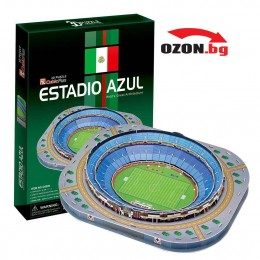 Триизмерен 3D пъзел Estadio Azul of Mexico