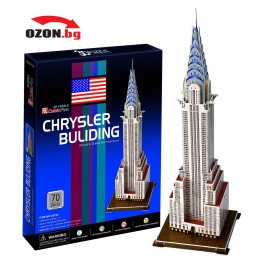 Триизмерен 3D пъзел Chrysler Building(New York)