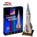 Триизмерен 3D пъзел Chrysler Building(New York)