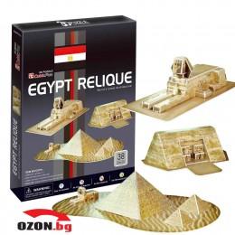 Триизмерен пъзел 3D пъзел Egypt Relic 3D