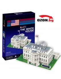 Триизмерен 3D пъзел The White House 3D