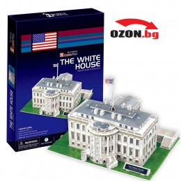 Триизмерен 3D пъзел The White House 3D