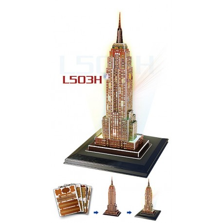 Empire State Building СВЕТЕЩ