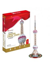 Оriental Pearl Tower - 3D