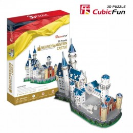 Neuschwanstein Castle(GERMANY) - 3D