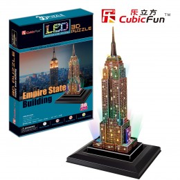 Empire State Building - светещ
