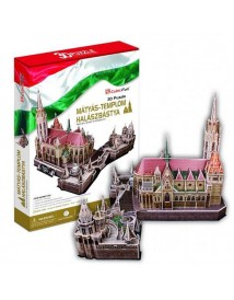 Matthias Church Fisherman's Bastion - 3D Пъзел