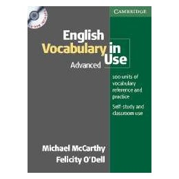 English Vocabulary in Use Advanced. Book with Answers and CD-ROM