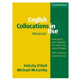 English Collocations in Use. Advanced Book with answers